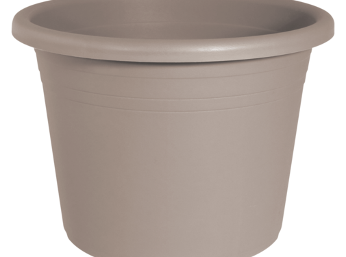 Geli Bloempot CYLINDRO ø 30 cm - Taupe
