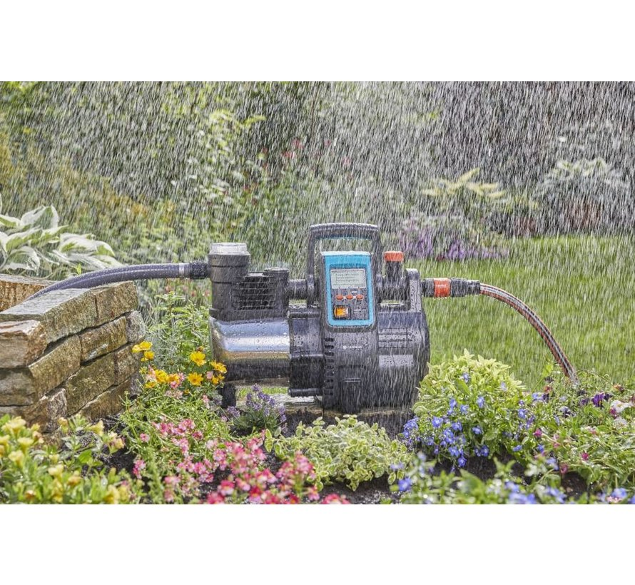 Gardena Hydrofoorpomp 6000/6E inox - LCD
