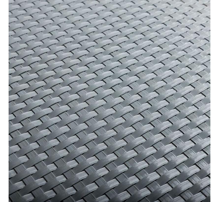 Kweekbak Rotan met frame - Rechthoek -  95 x 40 x 30 cm