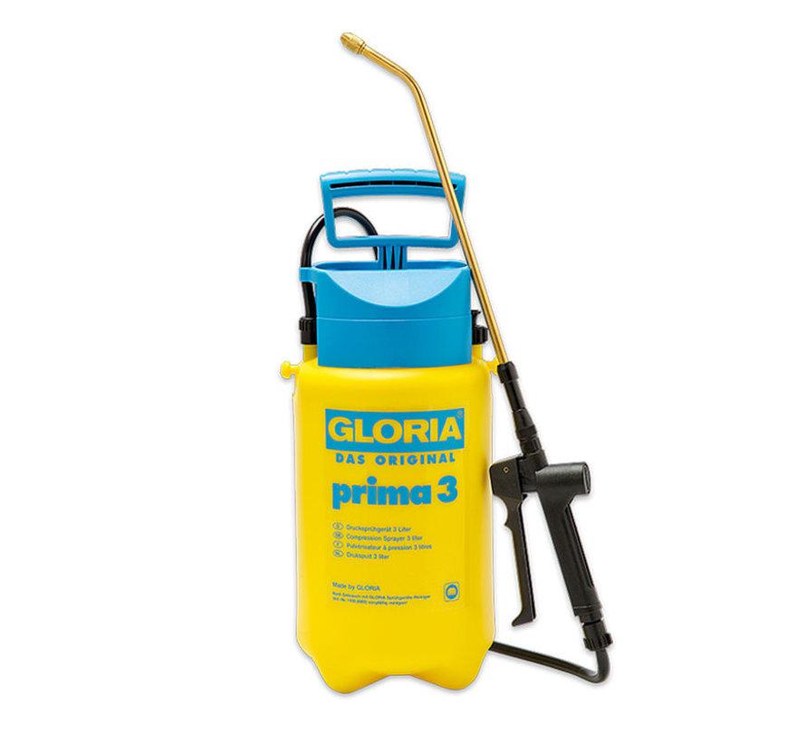 Gloria drukspuit - Prima 3 - 3 liter