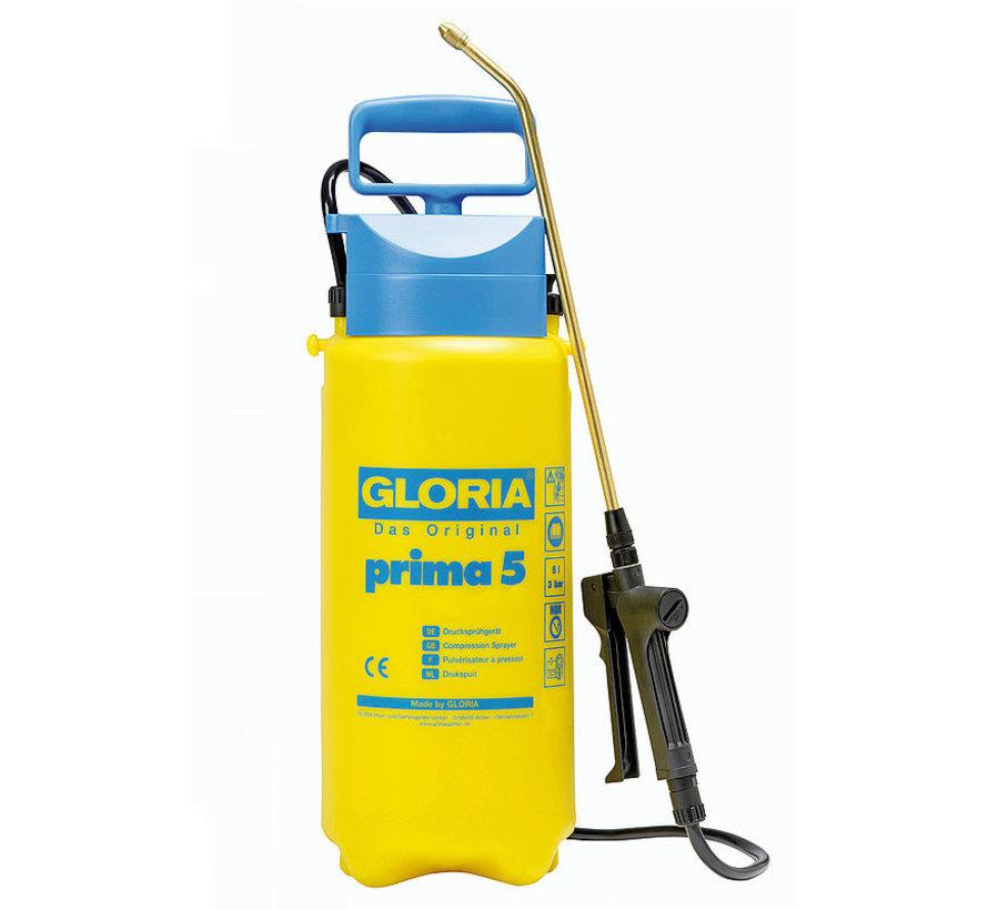 Gloria drukspuit - Prima 5 - 5 liter