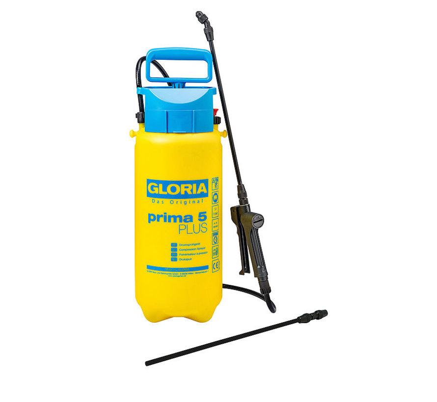 Gloria drukspuit - Prima 5 Plus - 5 liter