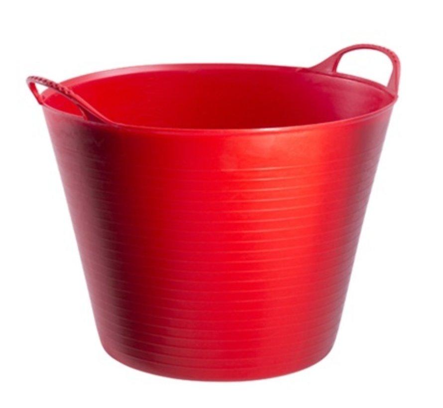 Tubtrug rood - 26 of 42 liter