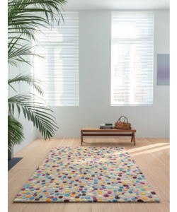 LIGNE PURE DOTTED CARPET  Colourful Stones