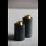 VIPSANDFRIENDS kandelaar set in zwart marmer
