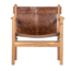 BePureHome Chill fauteuil echt leer bruin Collection