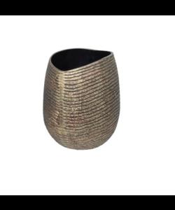 Vaas Aluminium handgemaakt Brons S