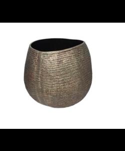 Vaas Aluminium handgemaakt Brons M
