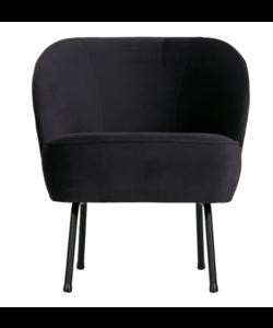 Vogue fauteuil fluweel inkt
