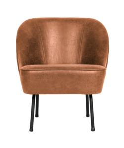 Vogue fauteuil leer cognac