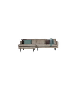 Rodeo chaise longue links/rechts elephant skin