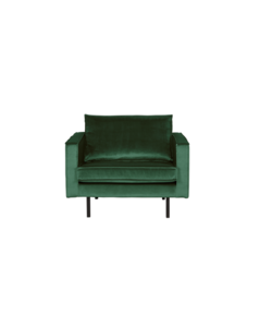 Rodeo fauteuil velvet green forest