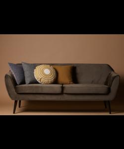 Rocco sofa 187 cm fluweel warm groen