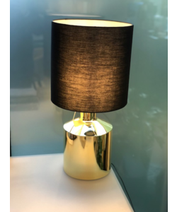 Lamp 58cm gold-black mood