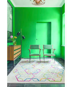 LIGNE PURE HEXAGON TAPIJT Multicolour