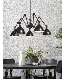 Hanglamp Amsterdam ijzer zwart