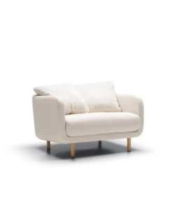 Jenny armchair wide C EU Tweedy natur