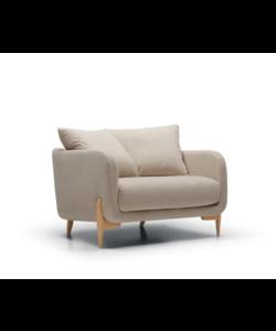 Jenny armchair wide C EU Stipa nature