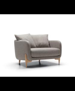 Jenny armchair wide C EU Viola grey-beige