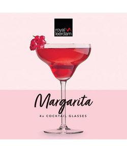 4 Margarita Cocktailglazen 30cl