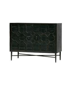 Bequest dressoir hout zwart