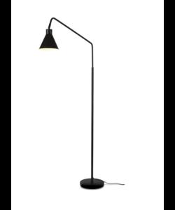 Floor lamp iron Lyon, black