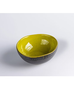 Kleine Ovale Bowl Miro Basalt & Verde Small 11cm x 10cm x 4,5Hcm ( 12 stuks )