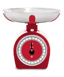 Mechanische Keukenweegschaal Shirley Rood 50kg - 20g