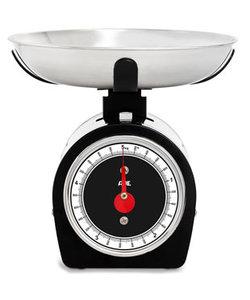 Mechanische Keukenweegschaal Shirley Zwart 50kg - 20g