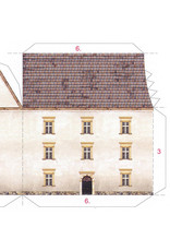 Schreiber-Bogen Burcht Blankenstein (bouwplaat 1:250)