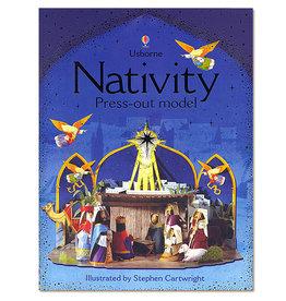 Usborne Publishing Maak zelf een Kerststal (voorgestanste bouwplaat)