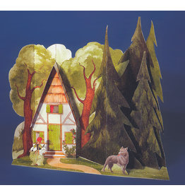 Schreiber-Bogen Roodkapje (Sprookjes-bouwplaat)