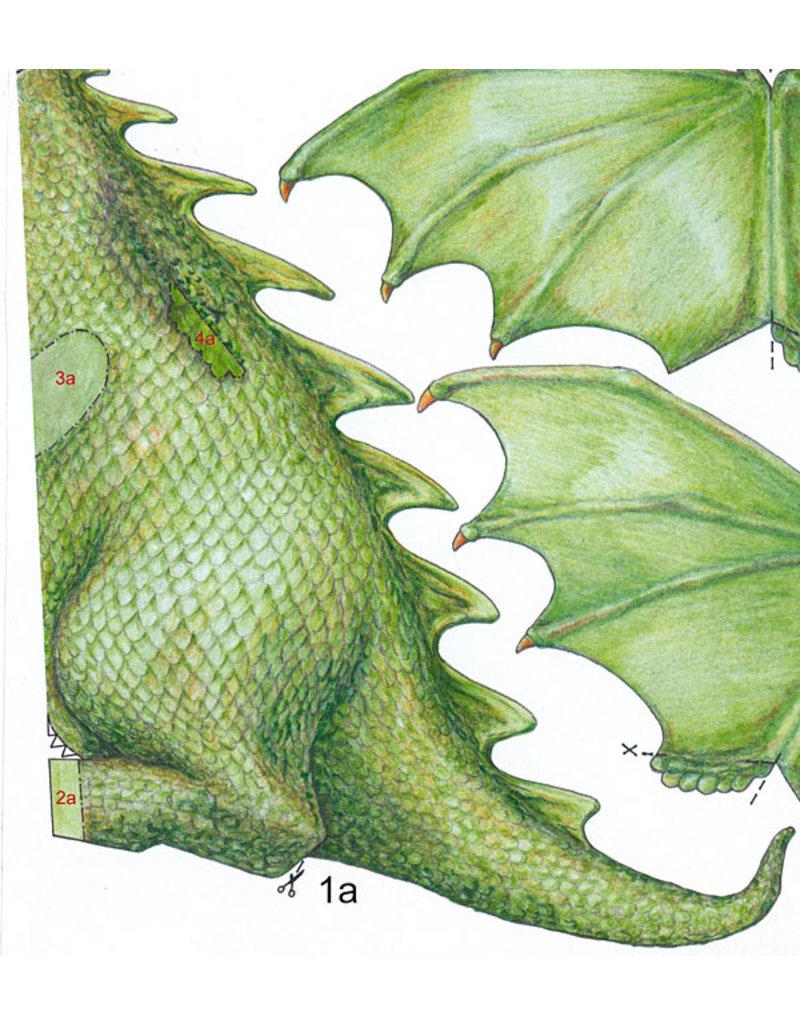 Schreiber-Bogen Vliegende draak (bouwplaat)
