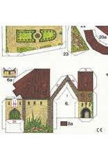 Schreiber-Bogen Burcht Bärenfels (bouwplaat 1:200)