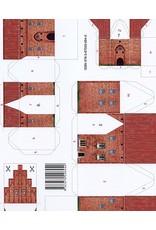 Schreiber-Bogen Burcht Rotenfeld (bouwplaat 1:250)