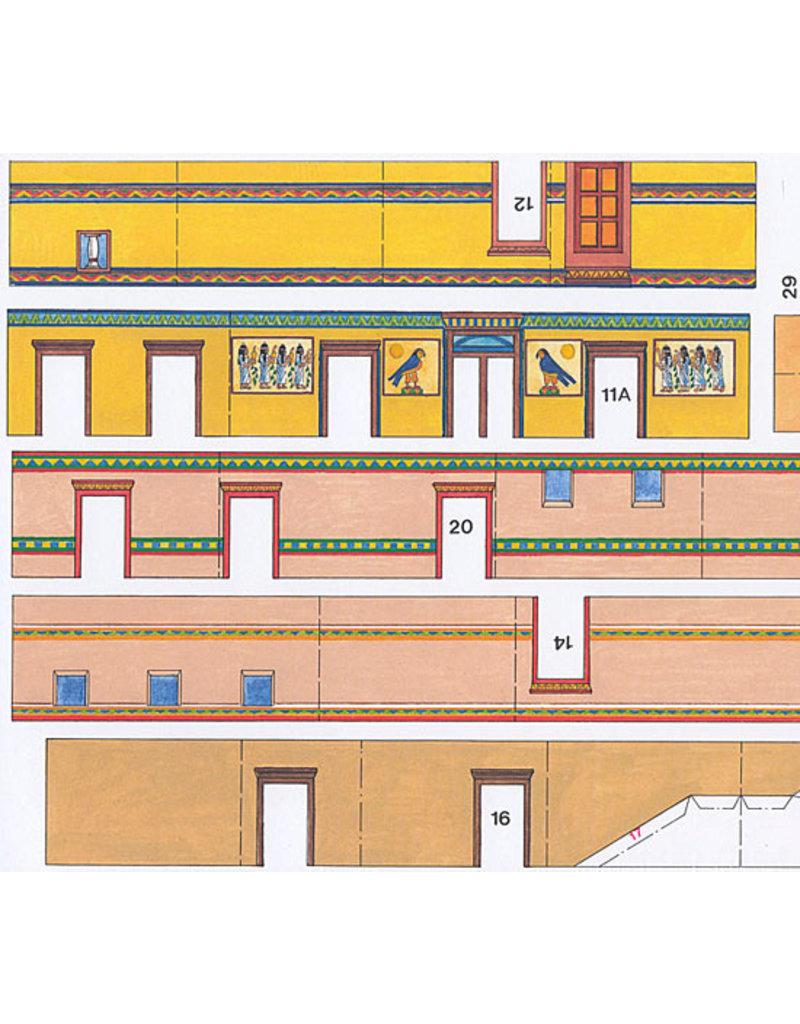 Schreiber-Bogen Egyptisch woonhuis (bouwplaat 1:87)