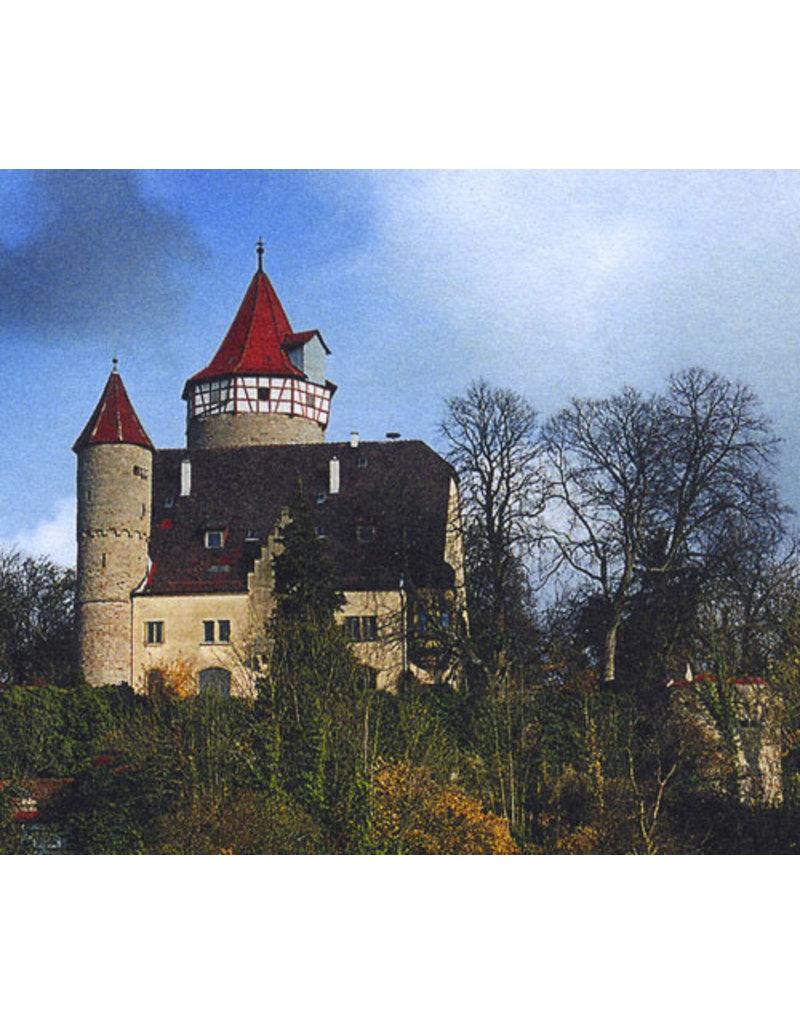 Schreiber-Bogen Kasteel Gotzenburg Mockmuhl (bouwplaat 1:160)