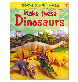Usborne Publishing Maak zelf Dinosauriërs (bouwplaat)
