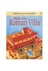 Usborne Publishing Maak zelf een Romeinse villa (bouwplaat)