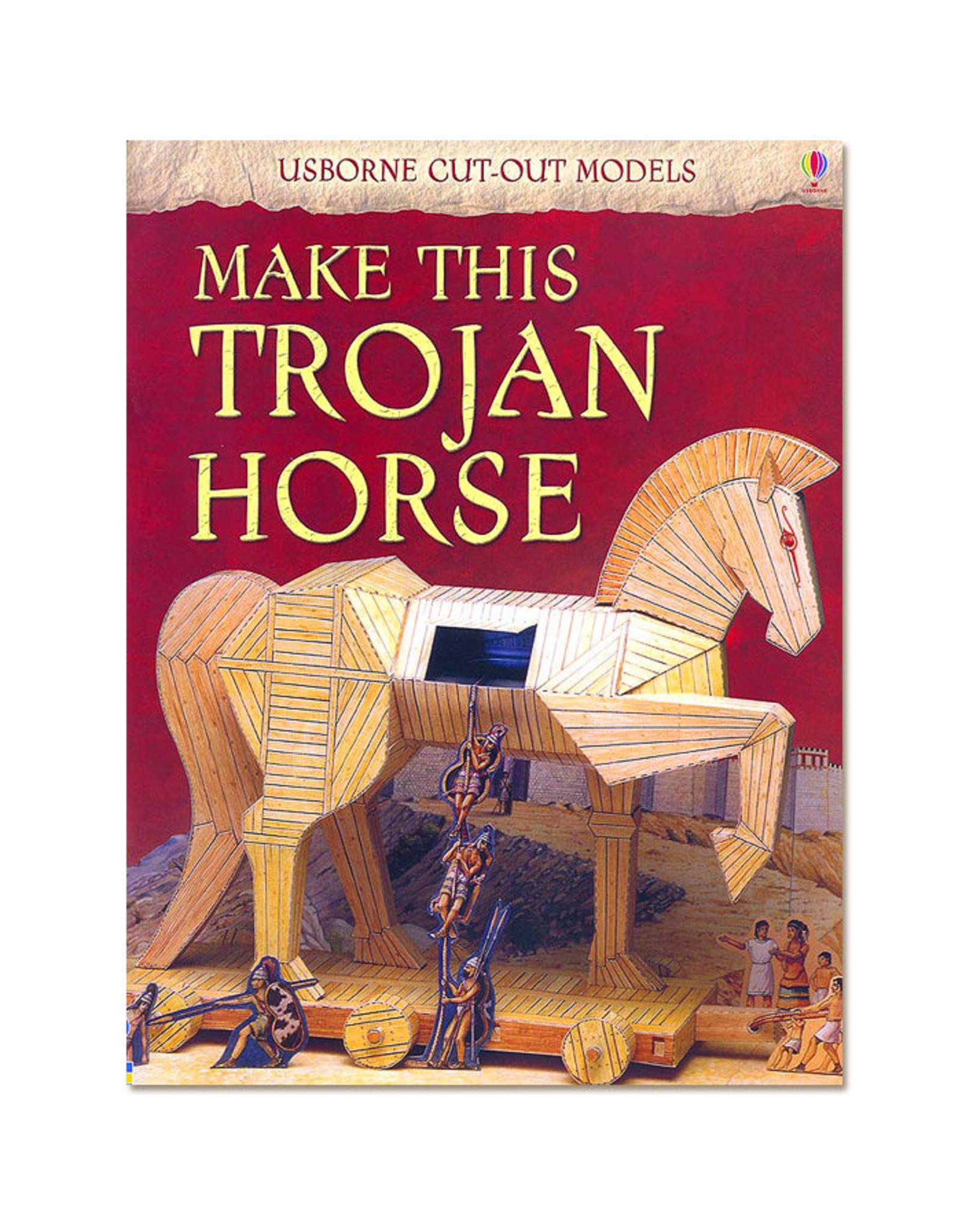 Usborne Publishing Maak zelf een Trojaans Paard (bouwplaat)