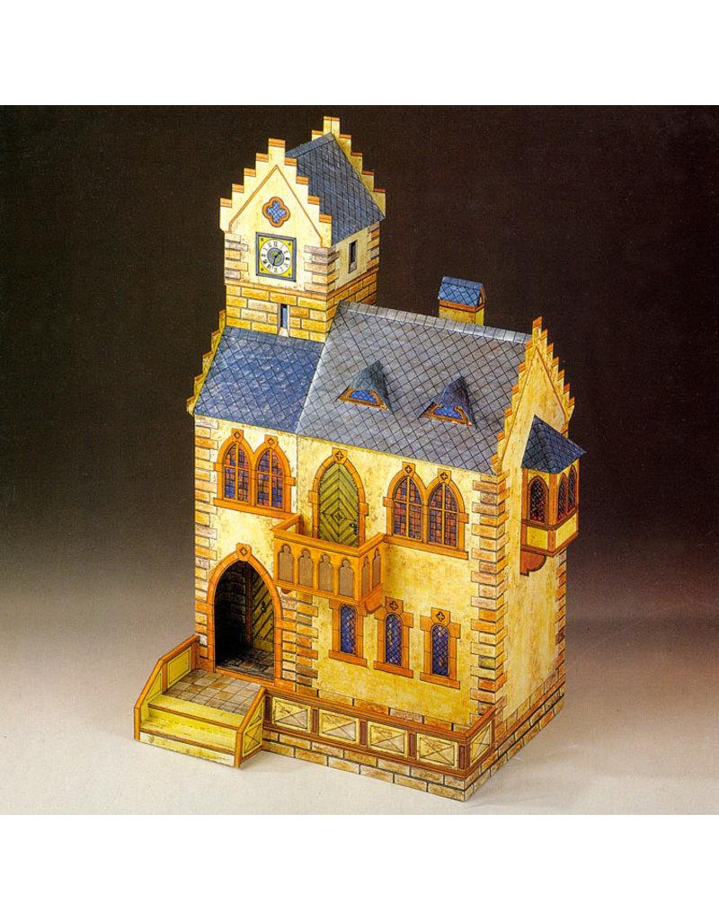 Schreiber-Bogen Middeleeuws Raadhuis (bouwplaat)