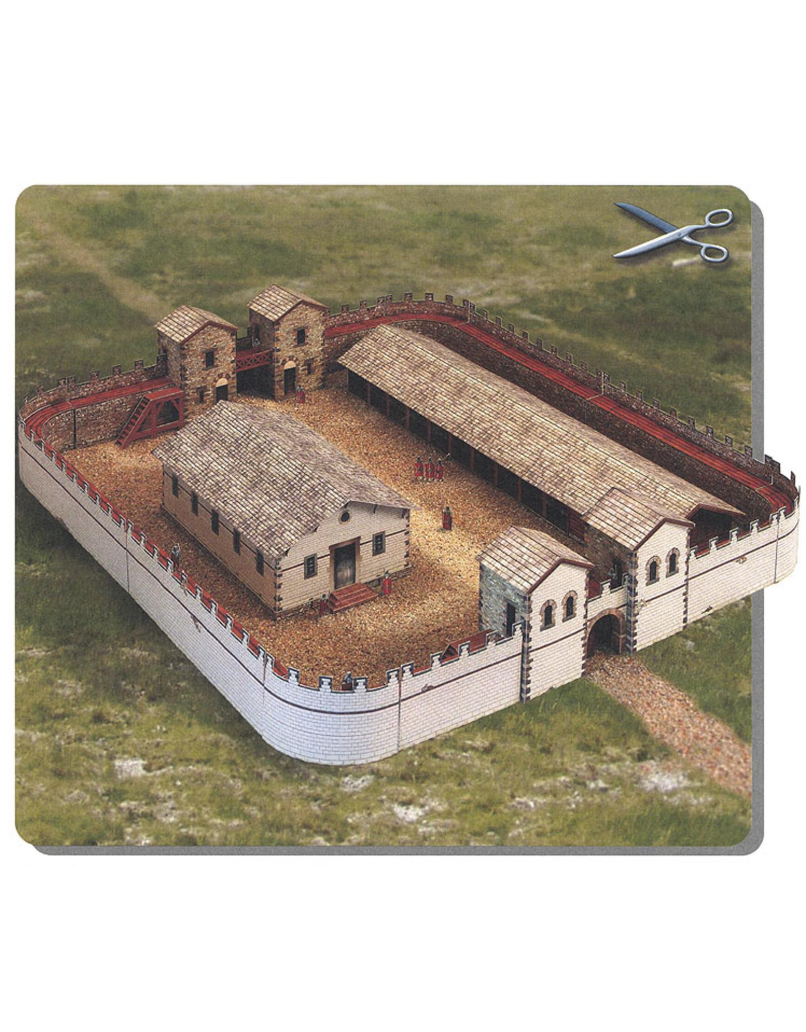Schreiber-Bogen Romeins fort (bouwplaat 1:87)