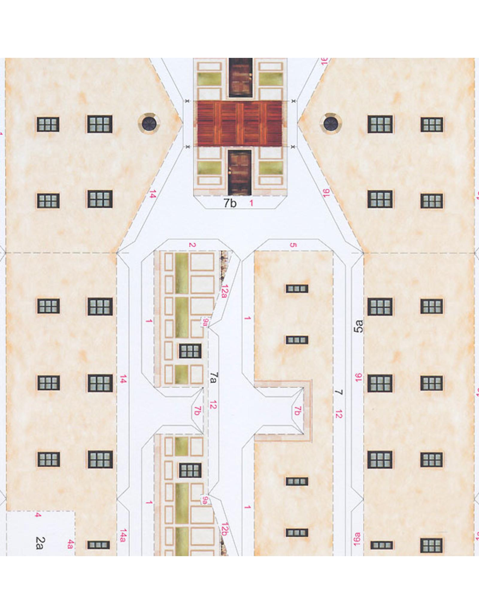 Schreiber-Bogen Romeins Landgoed Villa Rustica (bouwplaat 1:87)