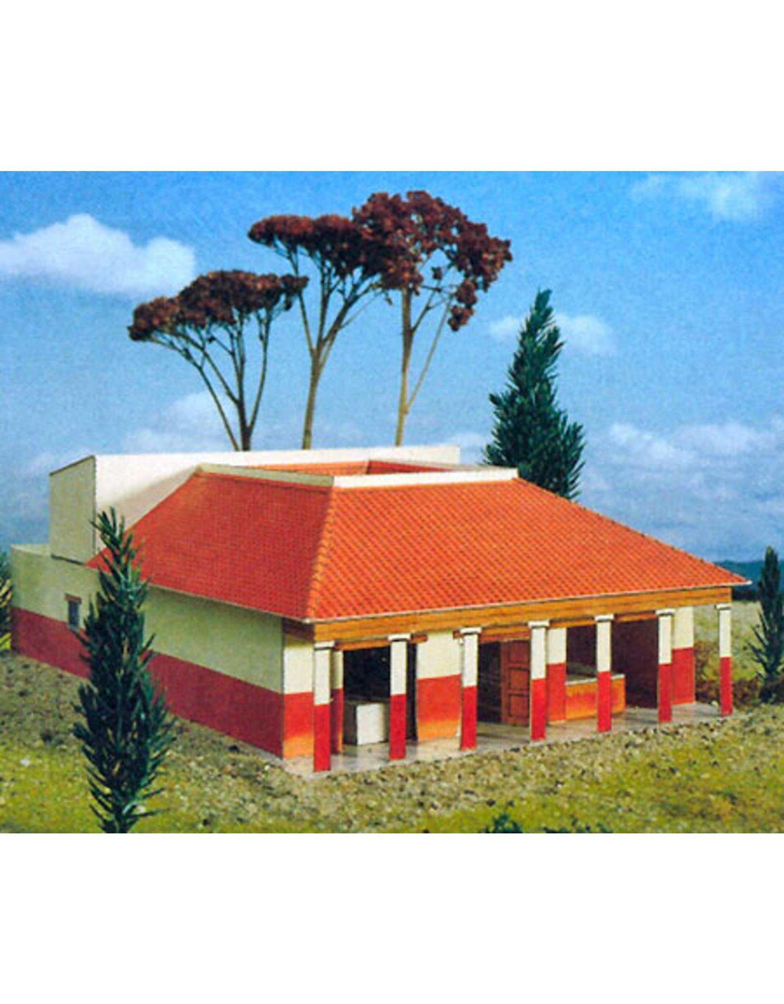 Schreiber-Bogen Romeinse villa (bouwplaat 1:87)