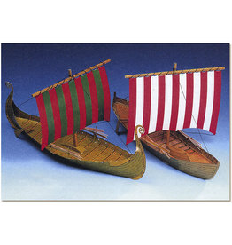 Schreiber-Bogen Twee Vikingschepen (bouwplaat 1:100)
