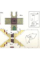 Schreiber-Bogen Burcht Thun (bouwplaat 1:160)