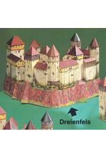 Schreiber-Bogen Kasteel Dreienfels (bouwplaat 1:120)