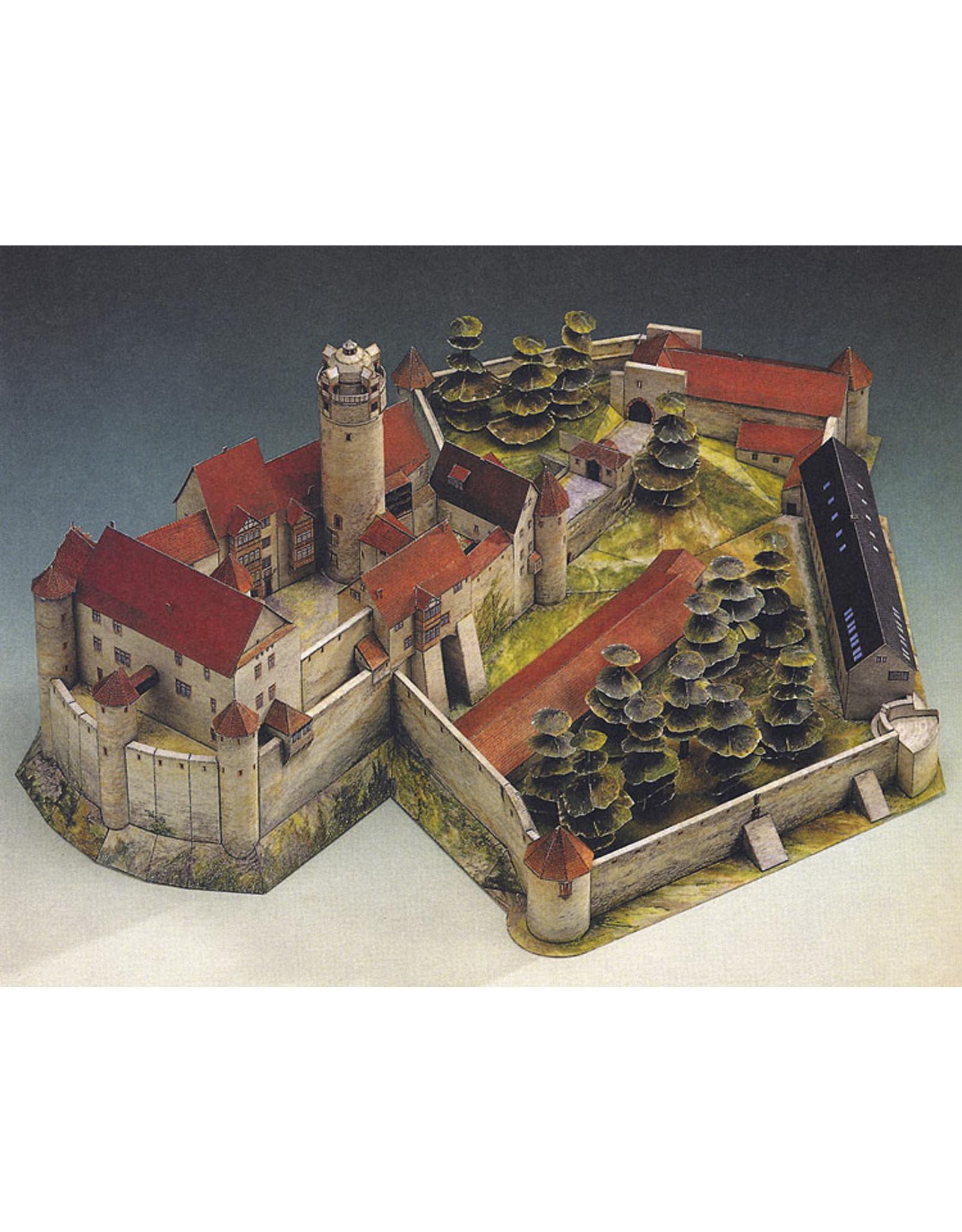 Schreiber-Bogen Kasteel Ronneburg (bouwplaat 1:250)