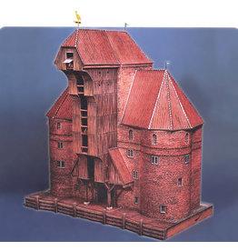 Schreiber-Bogen Krantor Danzig (bouwplaat 1:87)