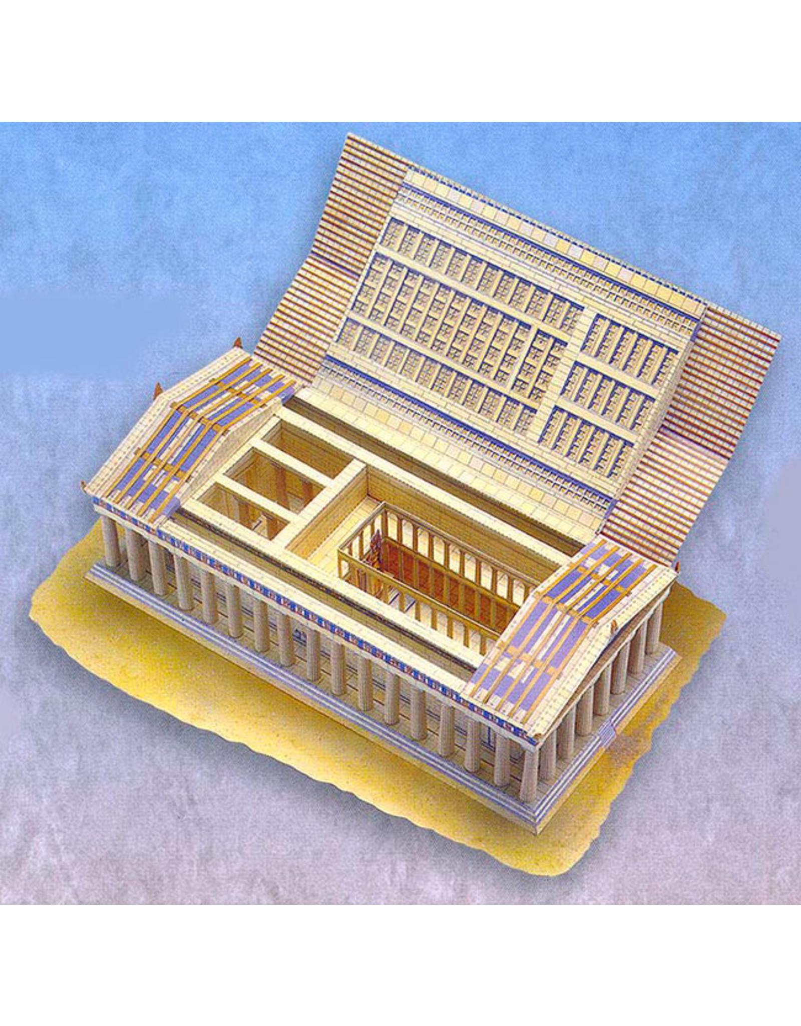 Usborne Publishing Maak zelf een Griekse tempel (bouwplaat)